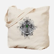 Faith Cross Bile Duct Cancer Tote Bag