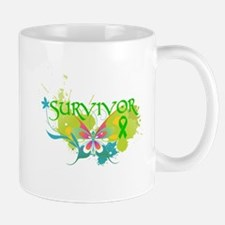 Butterfly Bile Duct Cancer Small Small Mug