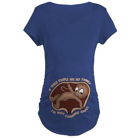 Familiaphobia -DS Maternity Dark T-Shirt