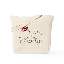 Ladybug Molly Tote Bag