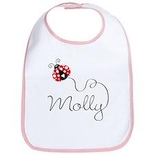 Ladybug Molly Bib