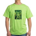 African Antelope Green Green T-Shirt