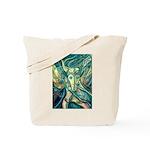 African Antelope Green Tote Bag