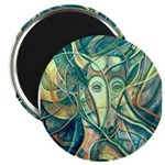 African Antelope Green Magnet