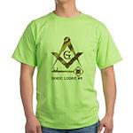 Doric Lodge #6 Green T-Shirt