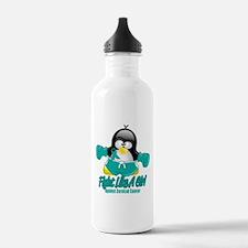 Cervical Cancer Fighting Peng Water Bottle