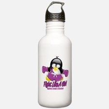 Crohn's Disease Fighting Peng Water Bottle