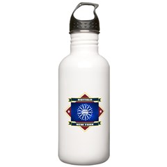 Buffalo Flag Water Bottle