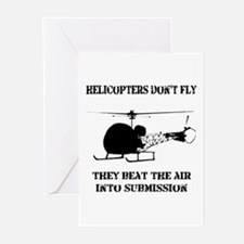 Helicopter Submission Greeting Cards (Pk of 20)