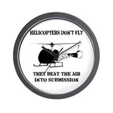 Helicopter Submission Wall Clock