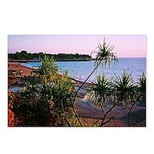 Pandanus Beach Sunset Photo Postcards (Pack of 8)