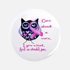 "Cute Breast cancer walk 3.5"" Button (100 pack)"