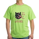 Breast cancer Green T-Shirt