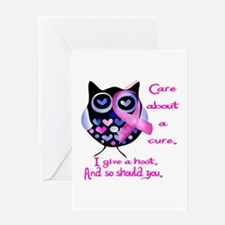Cancer support Greeting Card