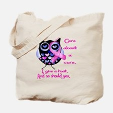 Unique Cancer support Tote Bag