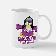 Fibromyalgia Fighting Penguin Mug