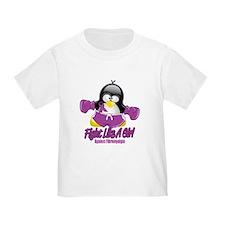 Fibromyalgia Fighting Penguin T