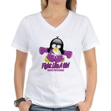 Fibromyalgia Fighting Penguin Shirt