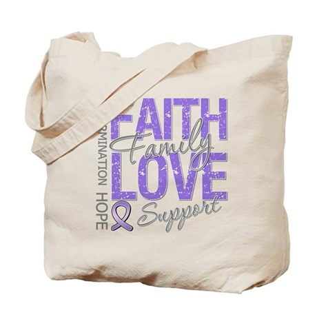 Faith Hodgkins Lymphoma Tote Bag