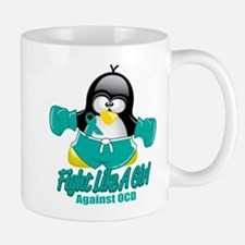 OCD Fighting Penguin Mug