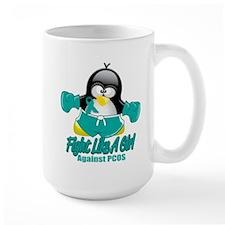 PCOS Fighting Penguin Mug