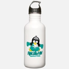 PCOS Fighting Penguin Sports Water Bottle