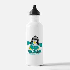 PCOS Fighting Penguin Water Bottle