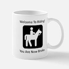 Welcome To Riding! Mug