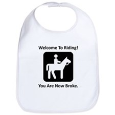 Welcome To Riding! Bib
