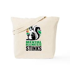 Mental Health Stinks Tote Bag