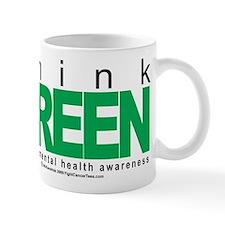 Think Green Mental Health Mug