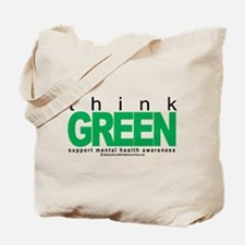 Think Green Mental Health Tote Bag