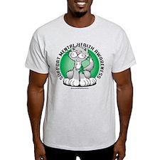Mental Health Cat T-Shirt