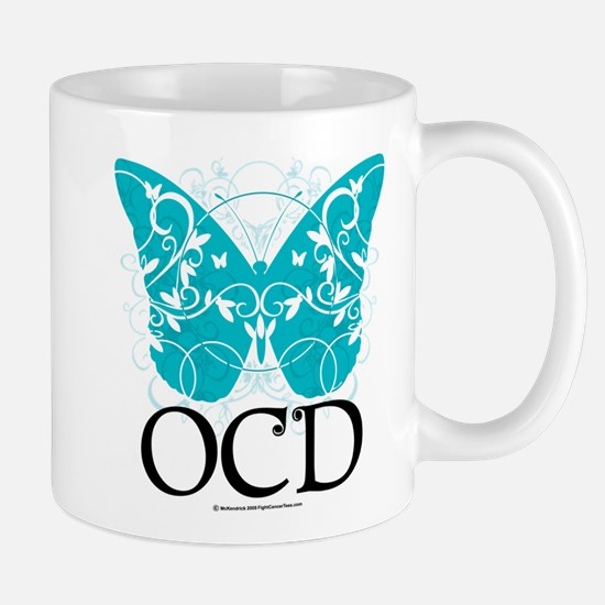 OCD Butterfly Mug