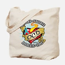 OCD Classic Heart Tattoo Tote Bag