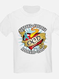 OCD Classic Heart Tattoo T-Shirt