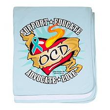 OCD Classic Heart Tattoo baby blanket