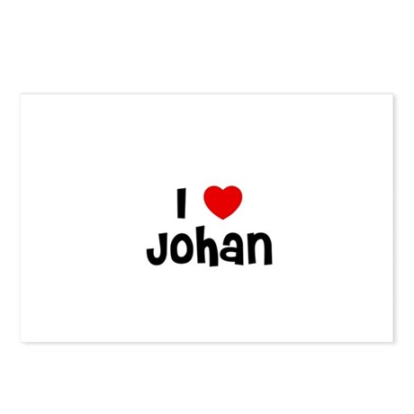 I * Johan Postcards (Package of 8)