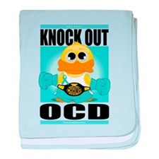 Knock Out OCD baby blanket