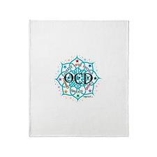 OCD Lotus Throw Blanket