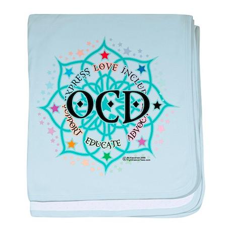OCD Lotus baby blanket