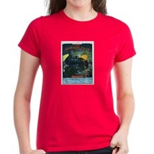 The Midnight Flyer Women's Dark T-Shirt