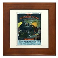 The Midnight Flyer Framed Tile
