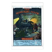 The Midnight Flyer Postcards (Package of 8)