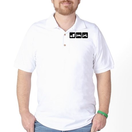 Eat Sleep ATV Golf Shirt