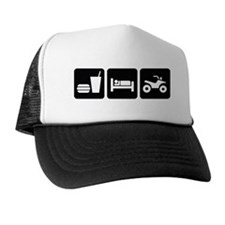Eat Sleep ATV Trucker Hat