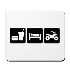 Eat Sleep ATV Mousepad
