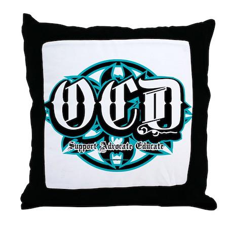 OCD Tribal Throw Pillow