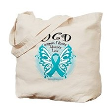 OCD Butterfly 3 Tote Bag