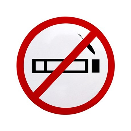 "Anti Smoking 3.5"" Button (100 pack)"